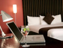 WHAT do most travelers look for the minute they arrive at a hotel?