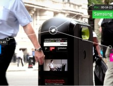 Smart trash can knows how fast you walk and which smartphone you use